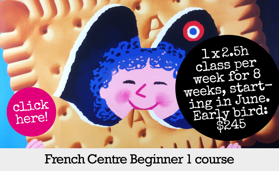 French classes Sydney French Centre for Language and Cultural Studies - French Centre Beginner 1 course standard Sydney